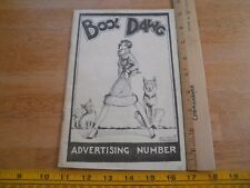 The Bool Dawg Albert Richard Stockdale comedy art magazine VINTAGE 1920s RARE