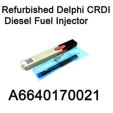 A6640170021 Delphi CRDI Fuel Diesel Injector for Ssangyong Actyon Kyron EURO 3