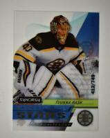 2020-21 UD Synergy Exceptional Stars #ES-4 Tuukka Rask /749 - Boston Bruins
