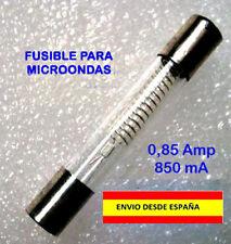 FUSIBLE PARA MICROONDAS 5KV 0,85AMP 850mA PLOMOS RECAMBIO PROTECTOR ARTEFACTOS