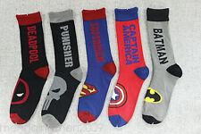 NEW Fashion Mens Cotton Socks MARVEL COMICS Super Hero Casual Dress Socks