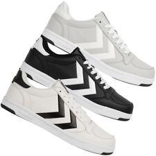 hummel STADIL LIGHT Sneaker Damen Herren Schuhe 207925 schwarz grau weiss neu