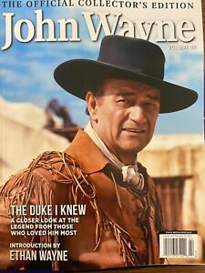 John Wayne Magazine *The Official Collectors EDITION VOLUME 38