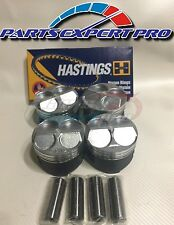 81.5MM HIGH COMPRESSION PISTONS & RINGS ACURA INTEGRA CIVIC SI TYPE R B16 B18