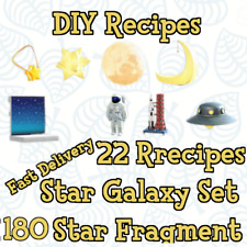 ⭐ Space Galaxy DIY Celeste + Star Fragments for Animal:Crossing New Horizons ⭐