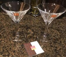 2- Italy RCR Home And Table Fusion Calice Martini 8oz Coupe 23cl Glasses