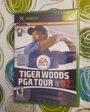 ** Tiger Woods PGA Tour 07 ** MICROSOFT XBOX ** NEW & SEALED **