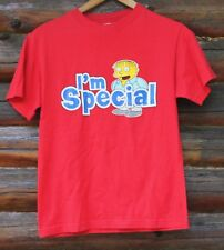 The Simpsons Ralph Wiggum Im Special Red T-Shirt Size Small