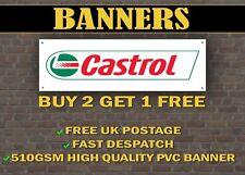 Castrol Oil Car Banner for Garage / Shop Display
