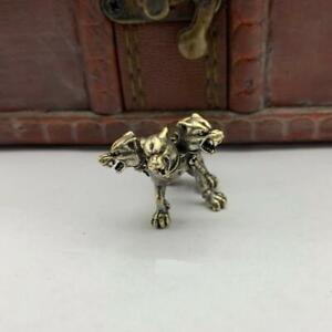 Tri-Sided Wolf Bead Pendant Bracelets Lanyard Pull Keychains Knife Paracord EDC