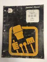 Dresser Operators Manual  Engine Models D240N D240T D240TA  D359N D505N 1987