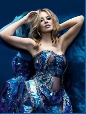 Kylie Minogue Aqua Blue Poster24in x 36in