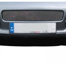 Zunsport polished silver mesh front centre grille set Porsche Cayenne 02-08