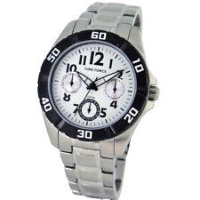 TIME FORCE TF-4133B02M  RELOJ CADETE MULTIFUNCION ACERO 50M
