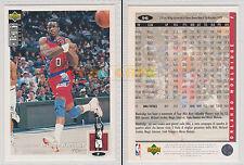 NBA UPPER DECK 1994 COLLECTOR'S CHOICE - Orlando Woolridge # 96 Ita/Eng MINT