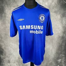 CHELSEA FC Blue Home Shirt Kit Jersey Centenary 2005-2006 Samsung Mobile XXL