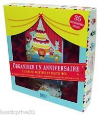 Coffret - Organiser un anniversaire - Valerie Duclos