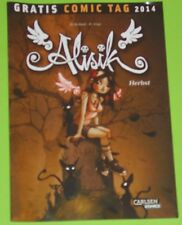 GRATIS COMIC TAG 2014 - ALISIK - Band 1 - HERBST / CARLSEN