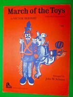 1959 SCHAUM VICTOR HERBERT MARCH OF THE TOYS PIANO SHEET MUSIC LEVEL 4