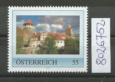 Österreich  personalisierte Marke Philatelietag STADTSCHLAINING 8026752 **