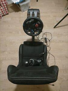 Logitech G29   Playseat   TH8A shifter - full driving setup