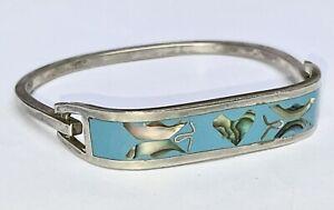 OLD Sterling Silver Mexico Bracelet 22gr