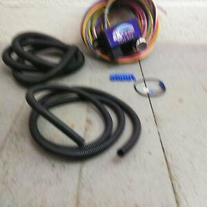12v 18 Circuit 12 Fuse Universal Wiring Harness Kit 1952 oldsmobile flathead