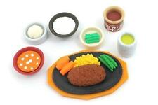 Iwako Japanese Erasers Steak Dinner Set S-3876 AU