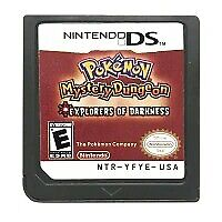 Pokemon Mystery Dungeon: Explorers of Darkness (DS, 2009) Game Card for 3DS Lite