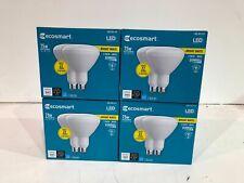 4PK ECOSMART 75-Watt Equiv BR40 Dimmable LED Light Bulb Bright White (2-Pack)