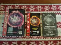 NBA Jam T.E. Tournament Edition - Authentic - Sega Genesis - Case / Box Only!