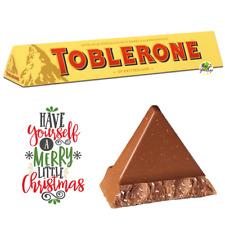 🎁🎄GIANT TOBLERONE MILK CHOCOLATE 360g Christmas Present Stocking Filler🎄🎁