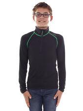 CMP Sweatshirt Function Top Black Collar Stretch Softech Zip