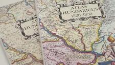 Atlas Hungaricus 1528-1850 2 Vol Hungarian Szantai Lajos Illustrated Maps 1996