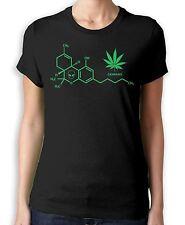 Cannabis Chemical Formula Women's T-Shirt - Weed Skunk Hydroponics Marijuana