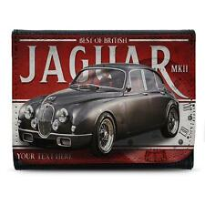 Personalised Jaguar mk2 Wallet Classic Car Leather Men Dad Gift CL22