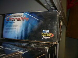 New 88-01 02 Cadillac Deville Chevrolet G20 GMC Front Morse UltraLife Brake Pads
