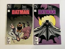 BATMAN #404 & 405 / Year One Part 1 & 2 / Frank Miller / DC Comics 1997