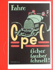POSTCARD FAHRE CPEL - FICHER FAUBER FCHNELL