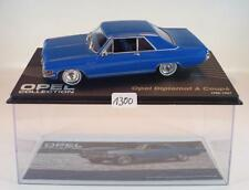 Opel Collection 1/43 Opel Diplomat A Coupe blau (1965 - 1967) in Plexi Box #1300