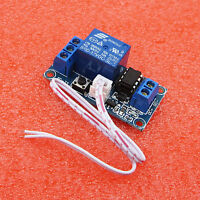12V 1 Channel Latching Relay Module with Touch Bistable Switch MCU Control Hot