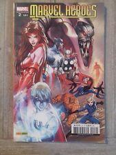 comics MARVEL HEROES hors série 2°série n°2