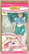 "Sailor Moon Mini Collection Neptune 6.1"" 15.5cm Figure Dolls Bandai 2001 Mint"