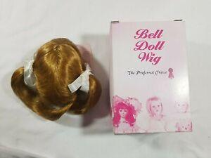 Bell Ceramics Doll Wig Cathy Light Copper Size: 13-14 #6380B NIB