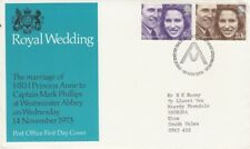 1973 Royal Wedding - Bureau H/S FDC