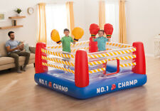 Giant Inflatable Boxing Ring Jump-O-Lene Fight Bouncer Blow Up Gloves Kids 740