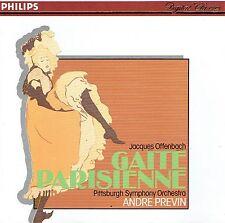 CD - OFFENBACH - GAITE PARISIENNE - PREVIN