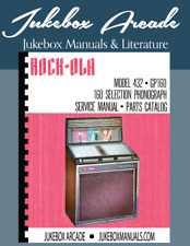 Rare! Rock Ola 432 GP/160  Service Manual, Parts List &Troubleshooting Guide