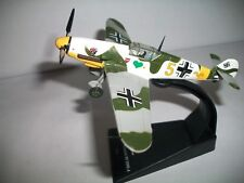 1:72 Messersc Bf 109 F German Military aircraft WWII model Die Cast IXO