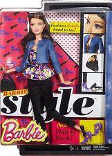 BARBIE STYLE RAQUELLE DOLL FASHIONISTAS DHD87 BLUE JACKET *NEW*